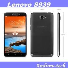 Original Lenovo 6inch Big Touch Screen MTK6592 Octa Core 1GB 8GB 8.0MP Dual Camera Dual SIM IPS HD Lenovo S939 Mobile Phone