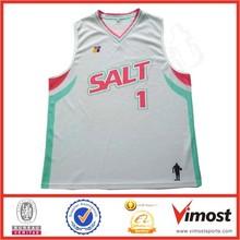 Colored basketball singlet/Basketball jersey design