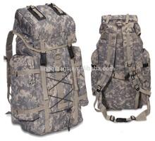 Camo backpack bag military survival kit