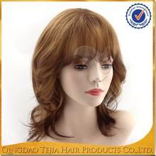 Wholesale Large stock Top Grade High quality Cheap virgin human hair fall wig