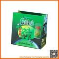 verde caffè sacchetti di carta riciclabile