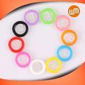 Mais recentes novo design botão de resina, colorido personalizado bondable lingual botões