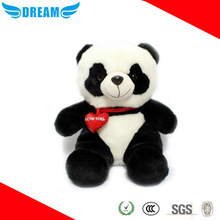 Custom soft plush stuffed animals panda
