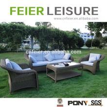 Brand outdoor garden aluminum sofa set