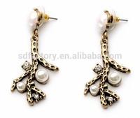 Unique Pearl Jewelry,Fashion Pearl Design Earring,Stud earring for women
