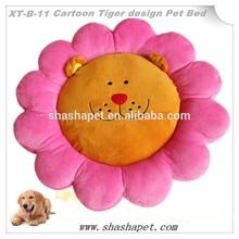Pink Petal with Cartoon Tiger design Pet Bed,dog bed,dog productdog sex dog bed cushion