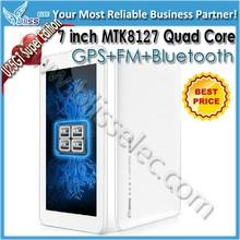 Cheapest model 7 inch mtk8127 quad core tablet ddr3 1gb ram