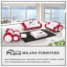 2014 hot sale real leather sofa 1+2+3 F6005B