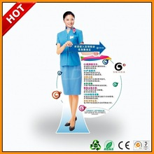 tree shape advertising corrugated standee display ,tray cardboard display standee ,trans formers poster display