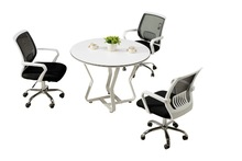 good quality newest design factory direct small round office meeting table