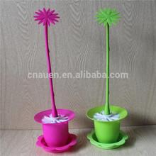 fashion design toilet brush with flower base
