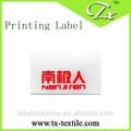 self adhesive plastic label printing