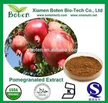 High Quality 10%-90% Ellagic Acid/Polyphenols/Punicalagin Pomegranated Peel Extract Powder