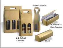 Popular upscale paper wine packaging