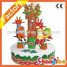 Christmas carousel Free Shipping Electirical Amusement