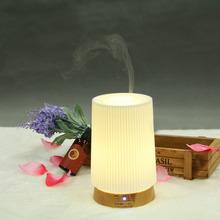 100ml PP led lamp shape AC adapter high quanlity Ceramic Disc essential oil distillation equipment