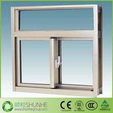 high quality aluminium frame sliding glass window