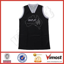 College basketball uniform design/Custom basketball singlet wholesale
