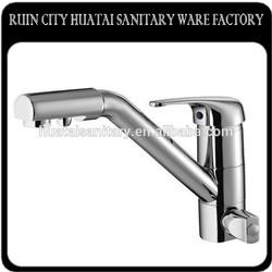 contemporary high quality dual flow spout kitchen faucet