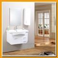 China bacia cerâmica da parede do pvc conjunto armário de banheiro armário de banheiro barato sp-5541