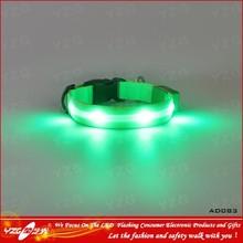 2014 Shop Tough LED Premium Webbing Dog Collars and Leashes