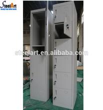 two tier steel foot lockers storage