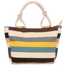 Bz1076 Fashion design leisure arts calico large canvas women handbag