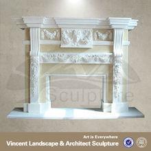 Marble Fireplace Surround,Fireplace Surround,Stone Fireplaces Surrounds VFM-NB097C