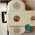 Rrd marca Push antipánico con alarma 100db, Puerta de pánico para la vida de seguridad