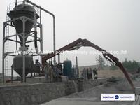Vacuum ship unloader for bulk material