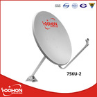 75cm KU Band Global Satellite Dish Receiver