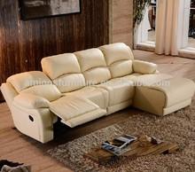 genuine leather reclining sofa sets