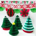 venta al por mayor 2014 un pañuelo de papel del árbol de navidad para la decoración de navidad