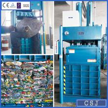 Hydraulic carton baler cardboard baling machine waste paper disposer four doors open