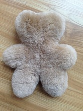 Cheap Sheepskin Bear Baby Bear Stuffed Purple Sheep Toy