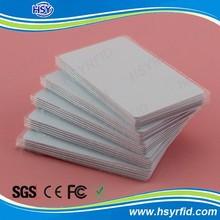 Low cost 125khz EM RFID waterproof card stock
