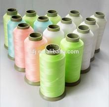 spun luminous yarn
