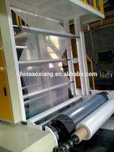 garbage\/shopping bag making machine blown film extruder and printing machine