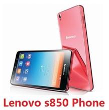 Original Lenovo S850 phone MT6582 1.3GHz CPU 1GB RAM 16GB ROM 13MP+5MP Camera 5.0 inch screen dual sim card