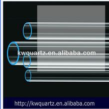 fused uv filter quartz tube from donghai kaiwang lianyungang jiangsu