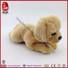 ICTI Sedex WCA SA800 supplier realistic stuffed animal plush dog labrador puppies for sale