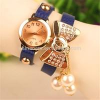 New design women lady fashion chain wristwatch wholesale made in China Quartz Wristwatch