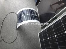 180W/20. 3VHigh efficiency flexible sunpower solar panel, high efficiency than tranditional solar panel are popolar now