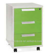 Attractive Design Office Mini Wood MFC mobile filing cabinet