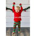 toptan bebek butik giyim küçük çocuk yılbaşı pijama pembe bebek moda çizgili pijama