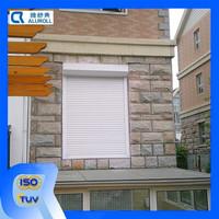 Aluminum alloy material vertical open pattern sliding window roller shutter