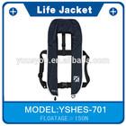HOT High Quality Beatiful Work Vest Infalatable Led Life Jacket Lights