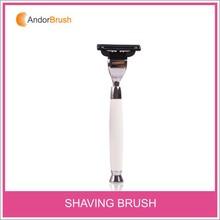 Newest Hot sale mens gift shaving kit with shaving stand mens razors