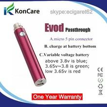 wholesale china alibaba 5pin usb vapor pass through battery