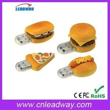 pizza pendrive wholesale italy pizza usb flash drive best Christmas gift for promotion with branded chips and free download